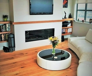 Livingroom renovation - bown & sons enterprises home renovation contractor - interior design construction vancouver fraser valley