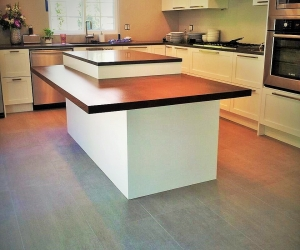Island kitchen reno in north van - bown & sons enterprises home renovation contractor - interior design construction vancouver fraser valley